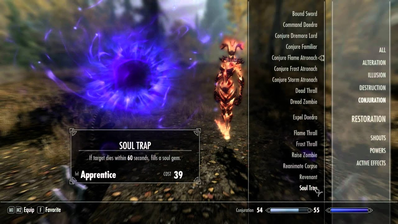 Skyrim - Master Conjuration Guide - YouTube