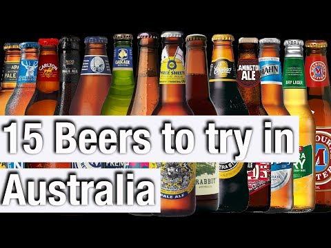TRYING 15 AUSTRALIAN BEERS (NO FOSTERS!)