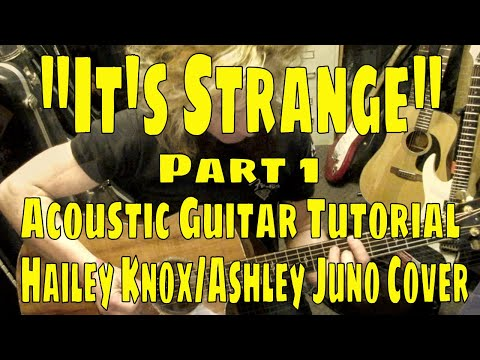 """It's Strange"" Hailey Knox and Juno Cover Tutorial (Louis the Child) Part 1"