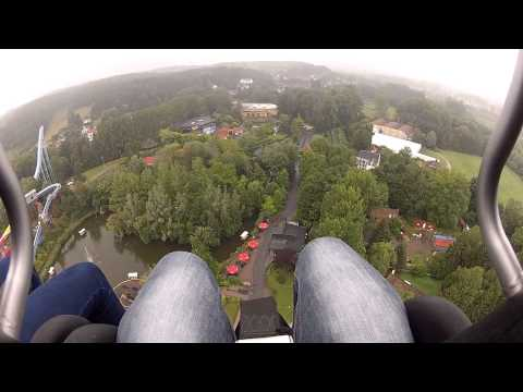 GoPro HD : Dalton Terror, On Ride ! (Walibi Belgium 2014)