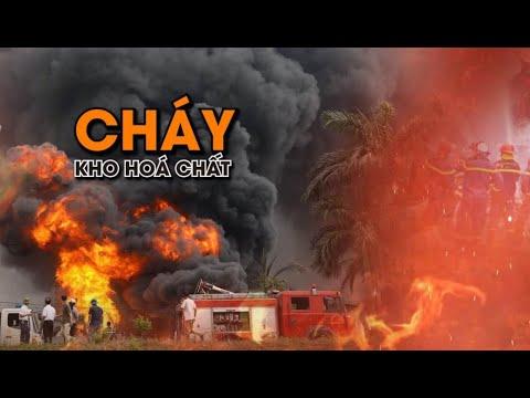 Cháy Kho Hóa Chất ở Hà Nội, Cảnh Tượng Như Phim Hành động | VTC14