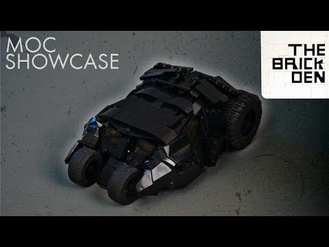 LEGO Batman Tumbler- MOC Showcase + IMPORTANT Channel Update