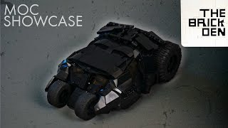 LEGO Batman Tumbler- MOC Showcase + IMPORTANT Channel Update