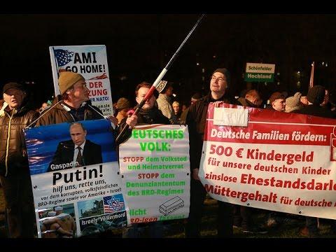 LIVE: PEGIDA Protest In Dresden, Germany