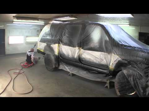 Project Rusty Suburban - Paint time