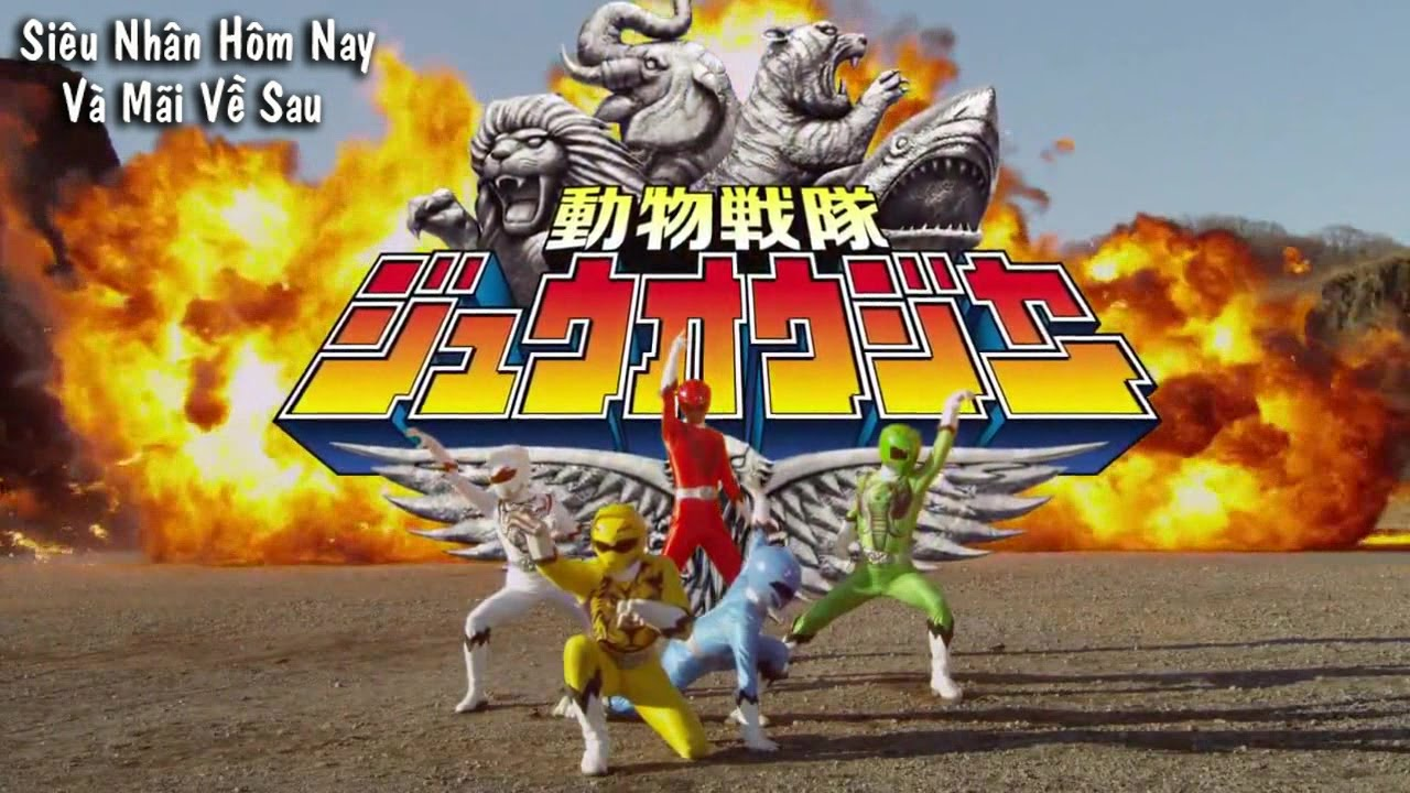 Doubutsu sentai zyuohger power ranger style power rangers jungle doubutsu sentai zyuohger power ranger style power rangers jungle fury youtube voltagebd Choice Image