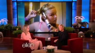 Hair Tutorial Gone Wrong from The Ellen Show
