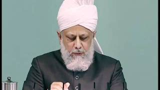 Bengali Friday Sermon 30th April 2010 Blessed European tour of France, Spain, Italy and Switzerland