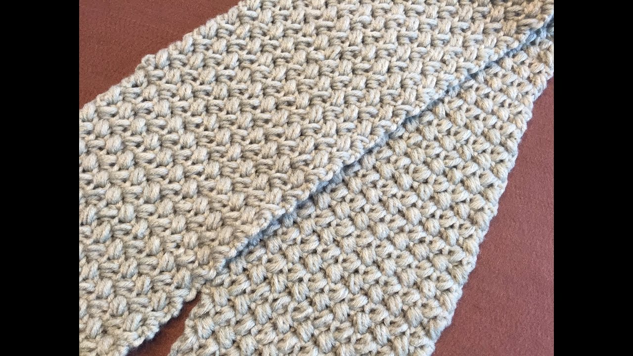Crochet Scarfcowl Tutorial Easy Beginner Level Youtube