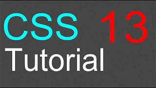 CSS Tutorial for Beginners - 13 - Web Colors