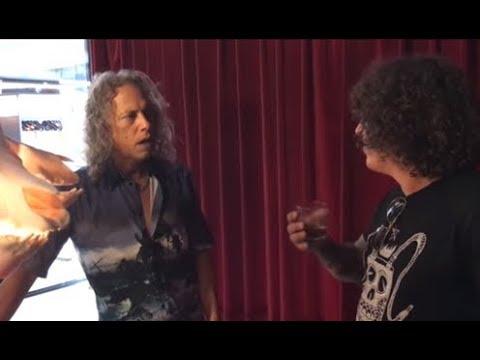 Kirk Hammett has ideas for new Metallica album - Ministry on vinyl..!