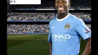 Man City Squad - 2010/2011 Season