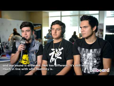3Ball MTY | One-on-One Interview, 2013 Billboard Latin Music Conference