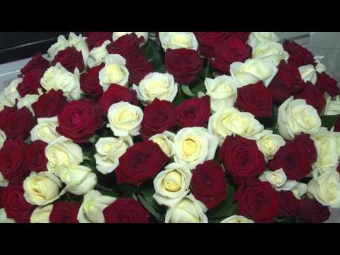 Цветы в день святого Валентина