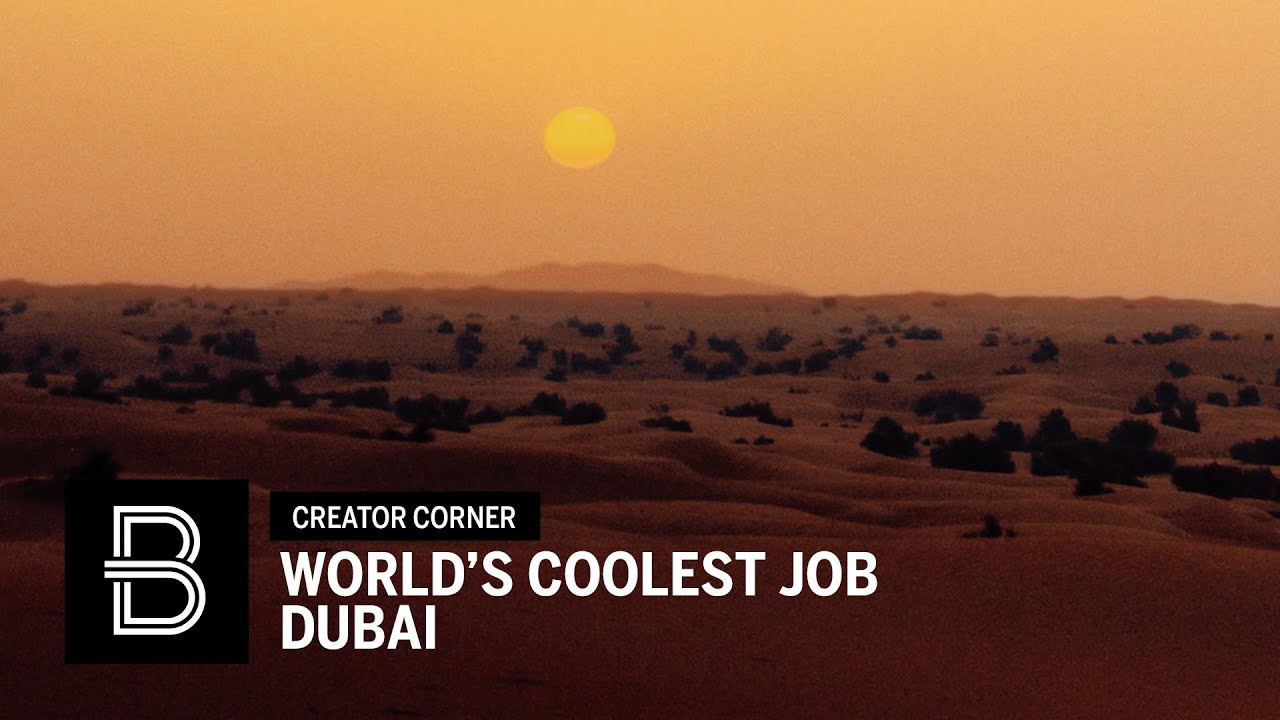 World's Coolest Job: Exploring the Dubai Desert
