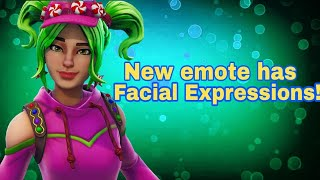 New Fortnite Emotes gives the characters facial expressions!