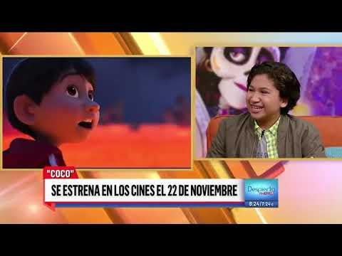 Conoce a Anthony Gonzalez de padres Guatemaltecos, la voz de 'Miguel' en Coco