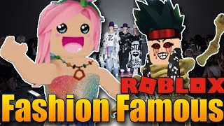 WE DO the MOST TERRIFYING OUTFITS in ROBLOX! 😨😎 | ROBLOX: Fashion Famous w/Hayley