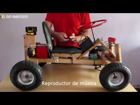 DIY electric Go Kart powered by Drill   Engineering Wiki