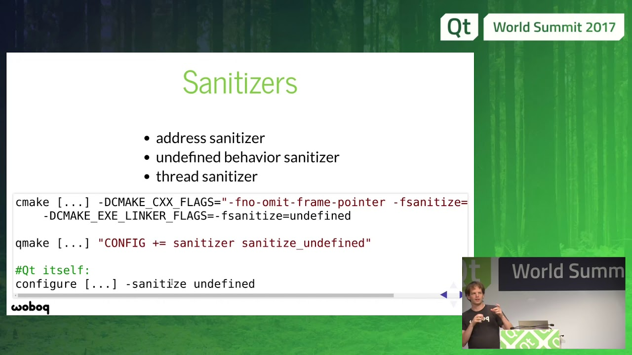 QtWS17 - Improve your productivity with Clang tools  Olivier Goffart, Woboq  GmbH