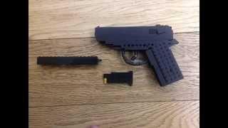 Custom LEGO Walther PPK Pistol Gun James Bond 007 Daniel Craig Instructions for