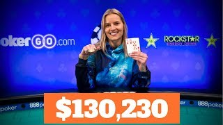 Jessica Dawley Wins 2018 WSOP Ladies Event!