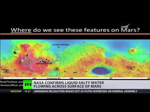 Flowing on Mars: NASA confirms water on Red planet, social media mocking it