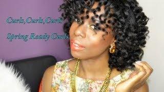 Fabulous Spring Curls On Natural Hair #4B4CHair