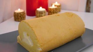 cách làm bánh bông lan cuộn mềm mịn