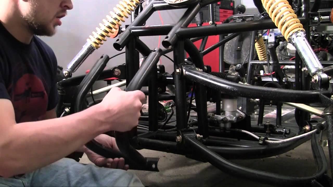 Go Kart Front Bumper : How to build a go kart front bumper youtube