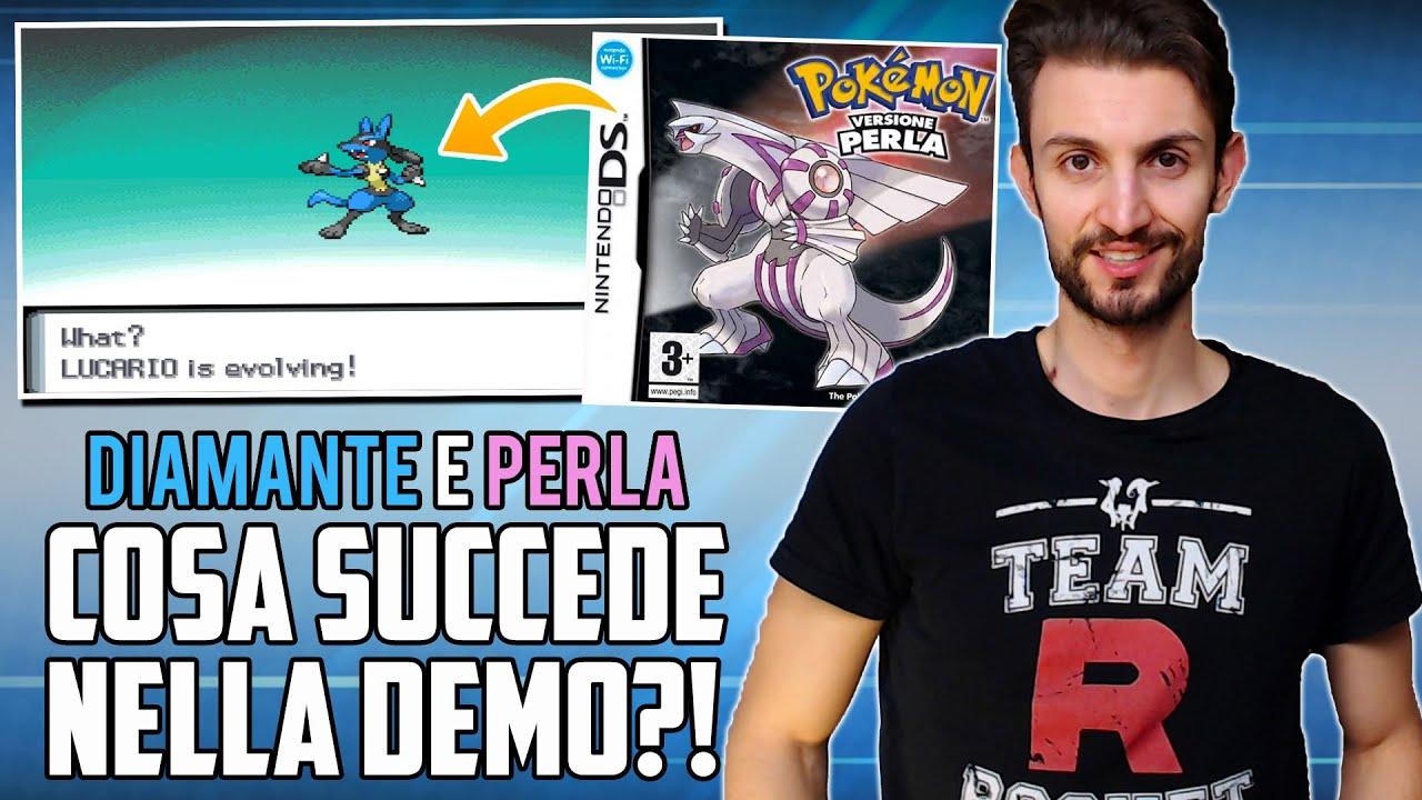 COSA SUCCEDE quando EVOLVI i Pokémon nella demo di Pokémon DIAMANTE e PERLA?! - What if