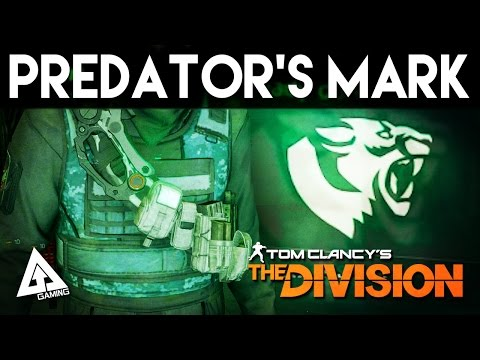 The Division Predator's Mark Gear Set Review