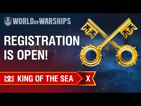 King Of The Sea X. Registration Is Open!