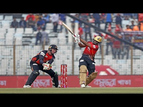 Evin Lewis&39;s 109 Run Against Khulna Titans  33rd Match  Edition 6  BPL 2019