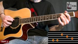 HOW TO PLAY SWEET HOME ALABAMA GUITAR TABS: CHORDS & NOTES / FREE EASY LESSONS & TUTORIALS TCDG