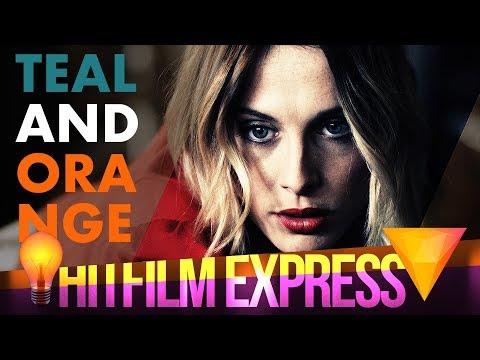 Teal and Orange Color Grading - Hitfilm Express 2017 Tutorial
