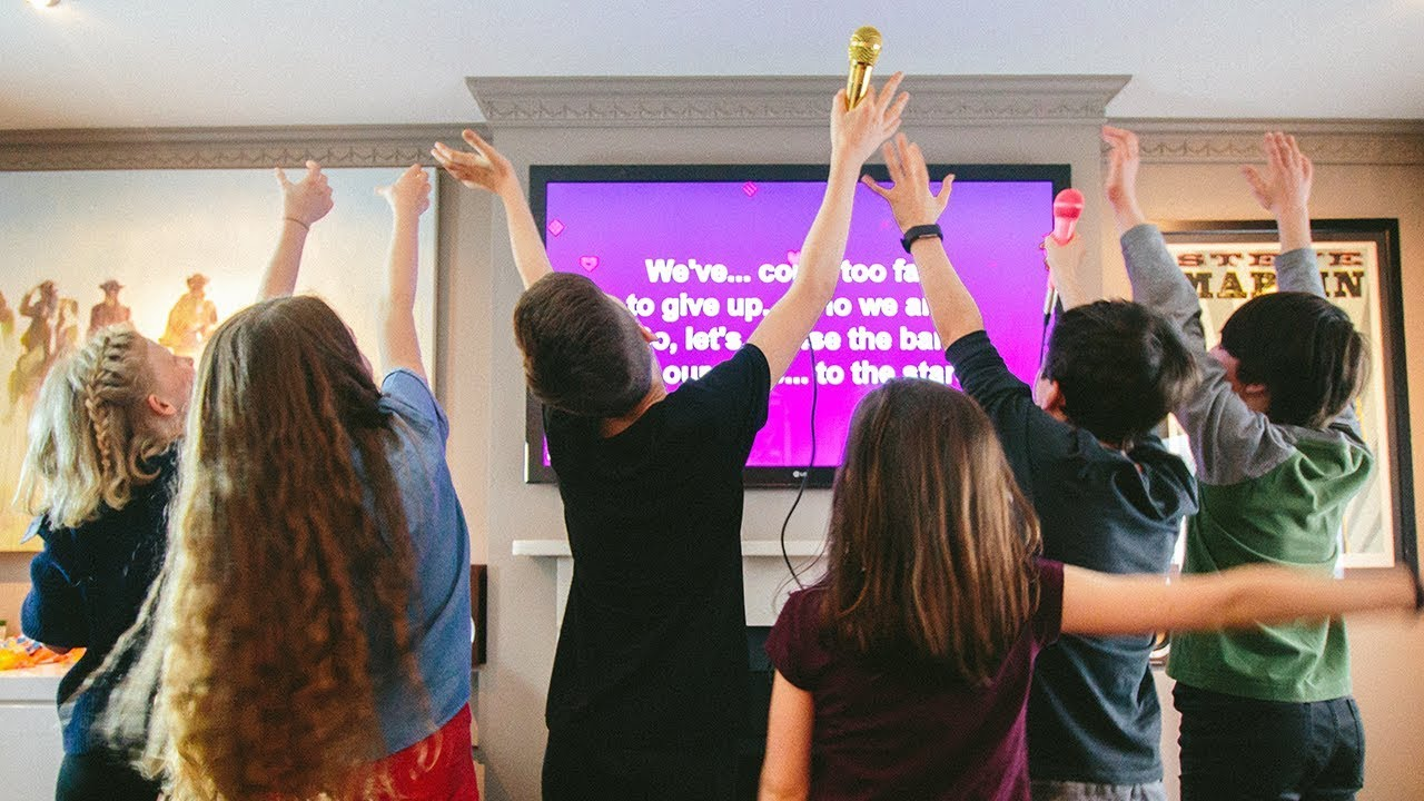 Lucky Voice Karaoke Machine - A Party For All Ages