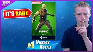 Is the BRAINIAC skin in fortnite CONSIDERED *RARE?*