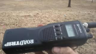 Cobra handheld CB test