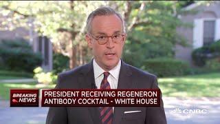 President Donald Trump has received Regeneron antibody cocktail after Covid-19 diagnosis