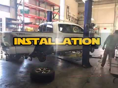 Tacoma Bilstein Install - YouTube