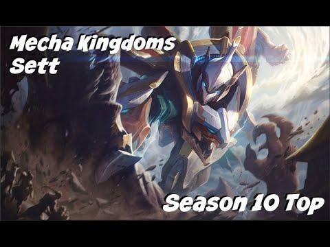 League of Legends: Mecha Kingdoms Sett Top Gameplay