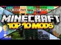 TOP 10 MINECRAFT MODS! (1.7.10) - 2015 (HD)