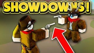 WILD WEST SHOWDOWNS! (ROBLOX Wild Revolvers)