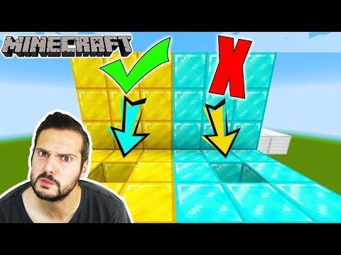 Minecraft: KAAN BAUT EIGENE OBBY FÜR NINA! WÄHLE NICHT DAS FALSCHE LOCH & LABYRINTH!
