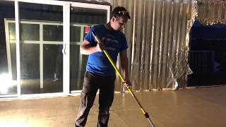 Gambar cover Building a shipping container home, Sealing the floor step 1