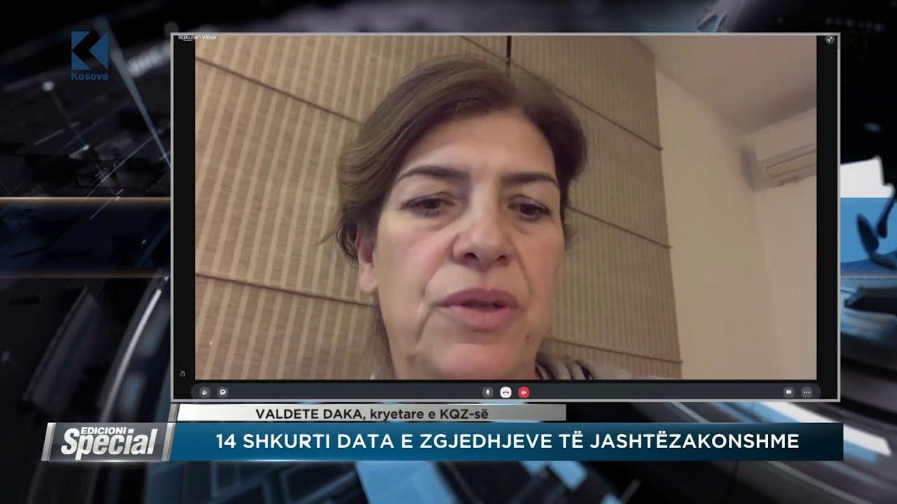 Valdete Daka (KQZ): Të gjithë kandidatët për deputet do t'i verifikojmë - 06.01.2021 - Klan Kosova