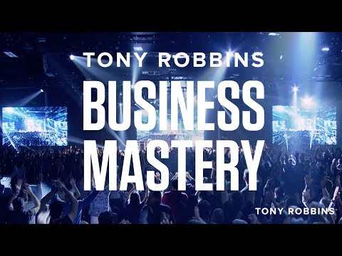 The event that EVERY business owner needs to attend… Business Mastery by Tony Robbins