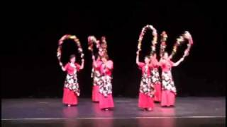 Bulaklakan dance by Hiyasmin Cultural Dance Group