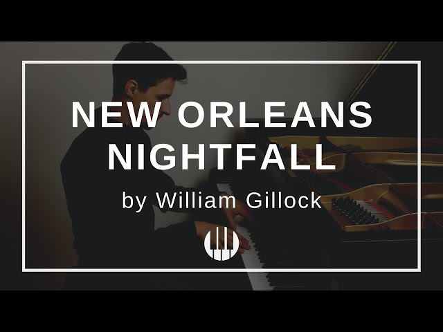 New Orleans Nightfall by William Gillock